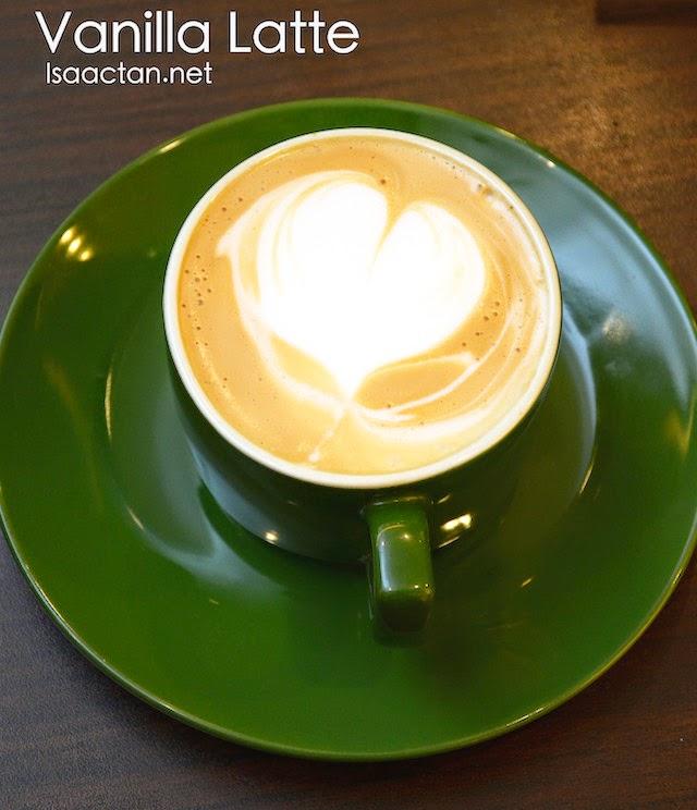 Vanilla Latte - RM12.50 / 13.50 / 14.50