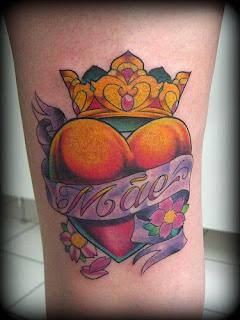 desenhos de tatuagens de coração
