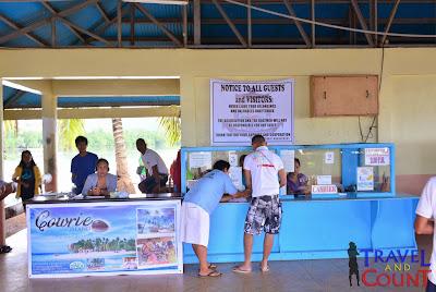 Registration Booth at Honda Bay Port