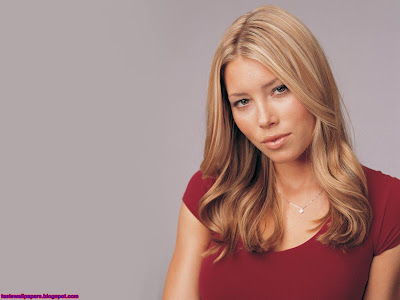 Jessica Biel beautiful HQ girl on girl wallpaper