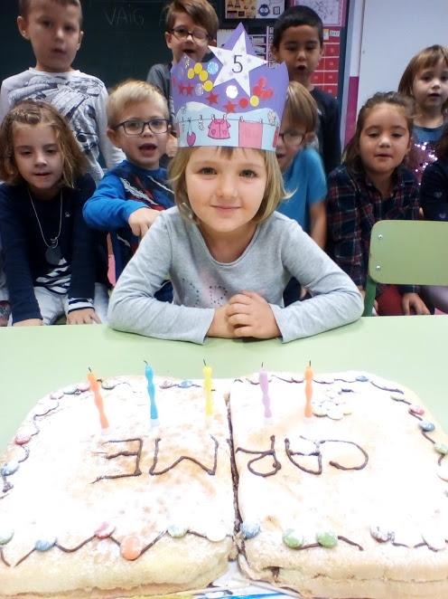 Na Carme ja té 5 anys!!