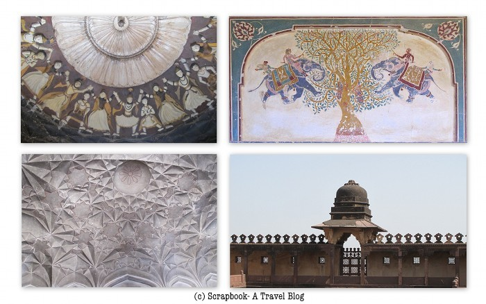 Murals of Datia palace