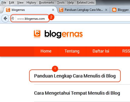 Cara Melihat Tampilan Tulisan Blog Setelah Dipublish