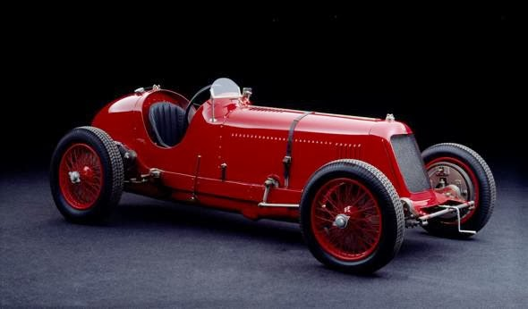 The Maserati 8CM (1933)