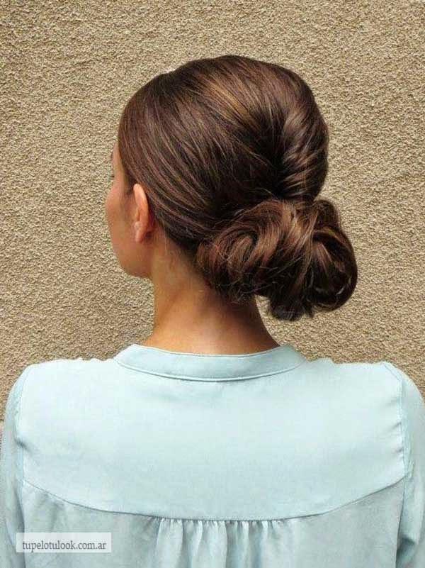 peinados fáciles-melenas