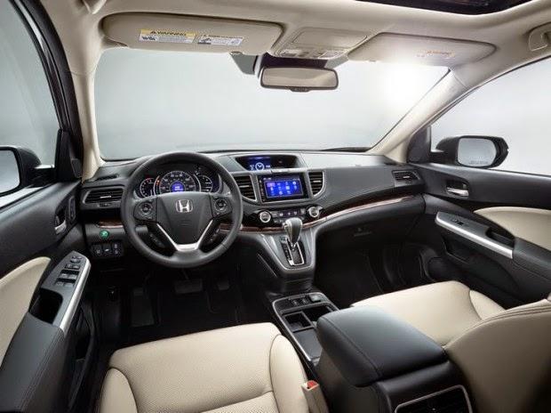 Novo Honda Crv 2015 interior acabamento