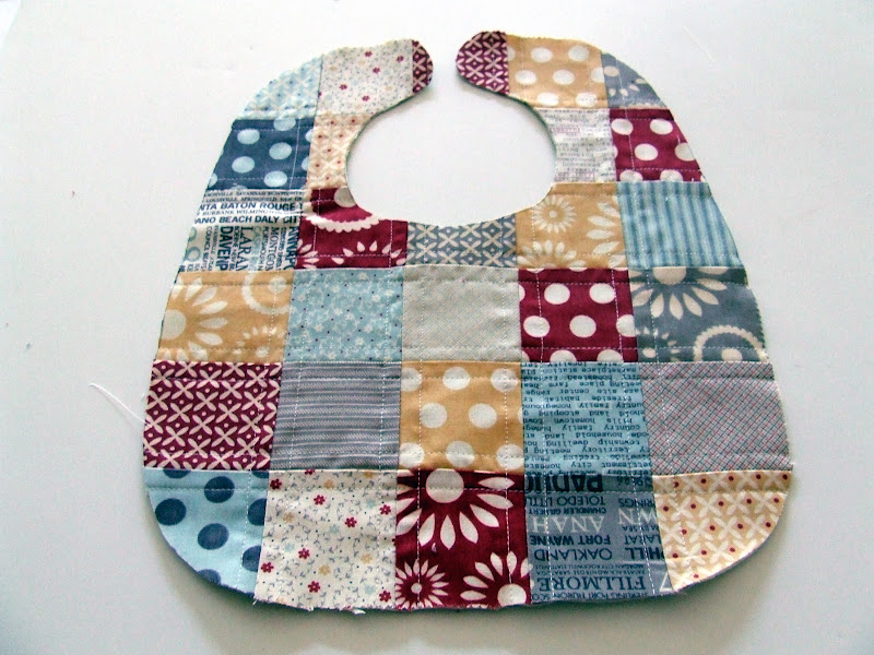 Our Cozy Nest: Quilted Baby Bib Tutorial : quilted baby bibs - Adamdwight.com