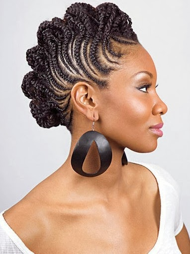 Braid Hairstyles for Black Women Cover Your Braids   Cute Hair Style