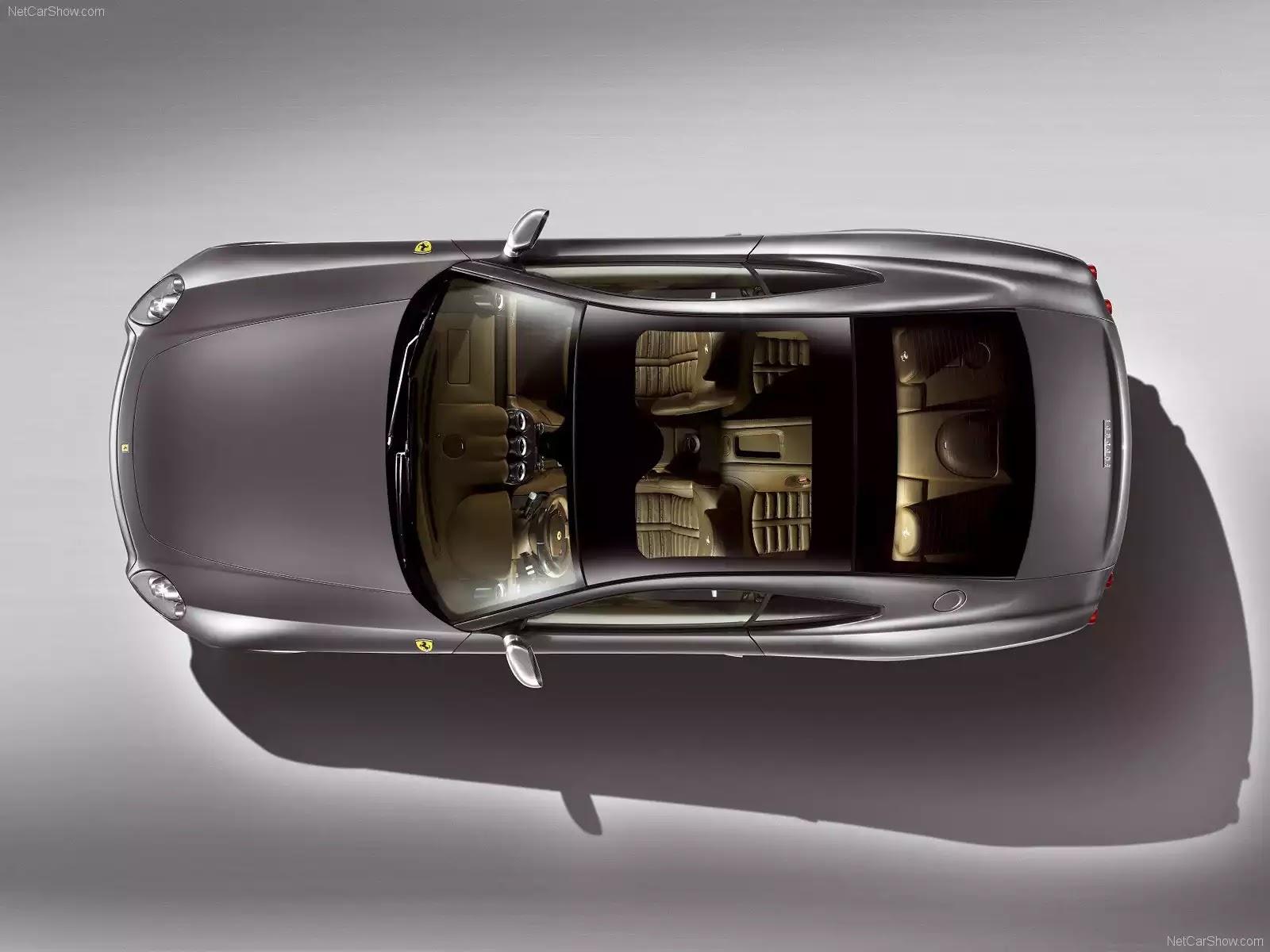 Hình ảnh siêu xe Ferrari 612 Scaglietti One-to-One 2008 & nội ngoại thất