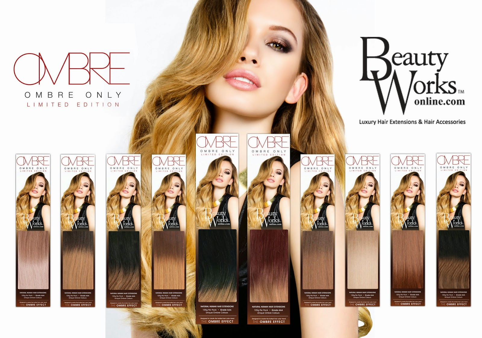 Sleek Hair Extensions Colour 6 Human Hair Extensions