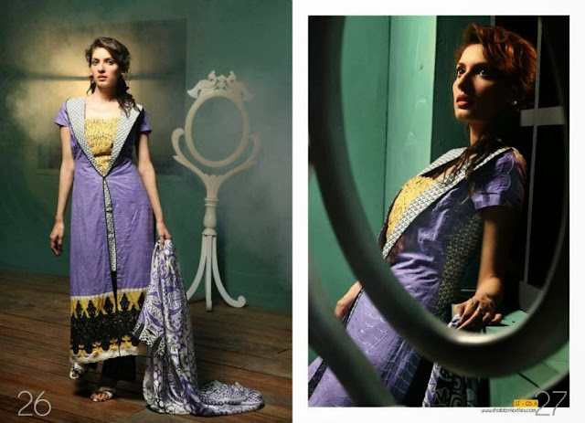 Paki Fabrics Clothing By Kiran Komal Pearl Collection 2013-2014 For Women And Girls Fashion