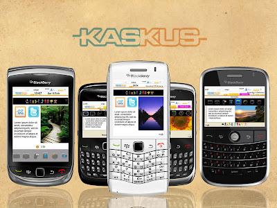 Theme Kaskus for BlackBerry