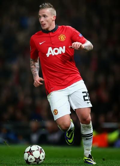 Alexander Buttner Manchester United 2014