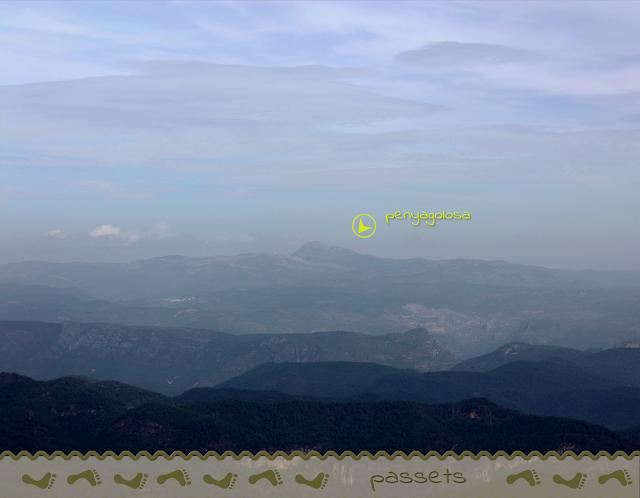 Espadán 6 - Vista del Penyagolosa desde Pico Espadán