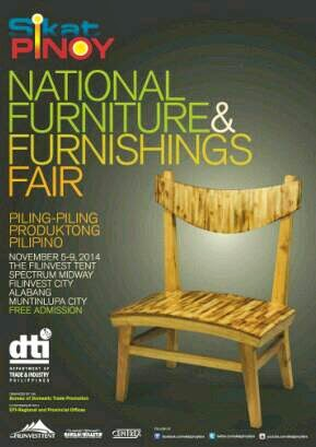Dti Sikat Pinoy National Furniture Furnishings Fair 2014 Great Home D Cor Finds