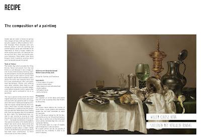 Rijksmuseum 'Hunger' magazine artikel 'Recipe'