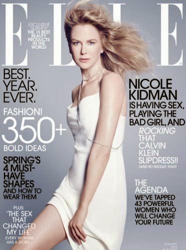 Nicole Kidman In an interview with Elle betrayed the beautiful Australian