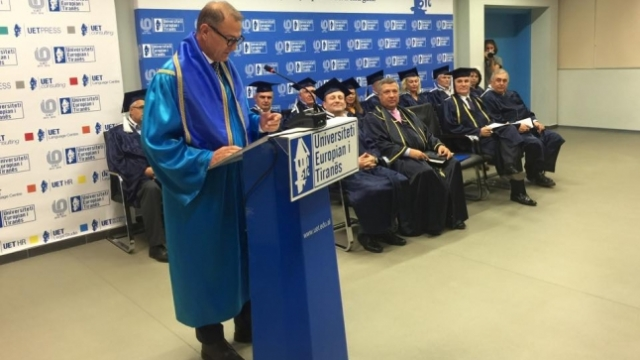 Gianni de Biasi appraised with Honoris Causa by Tirana University