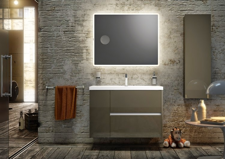 led bathroom lights for mirror and cabinet - Designer Bathroom Lights