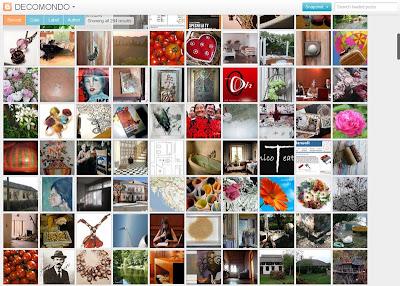 Snapshot-uno dei nuovi modelli di visualizzazione dinamica di Blogger