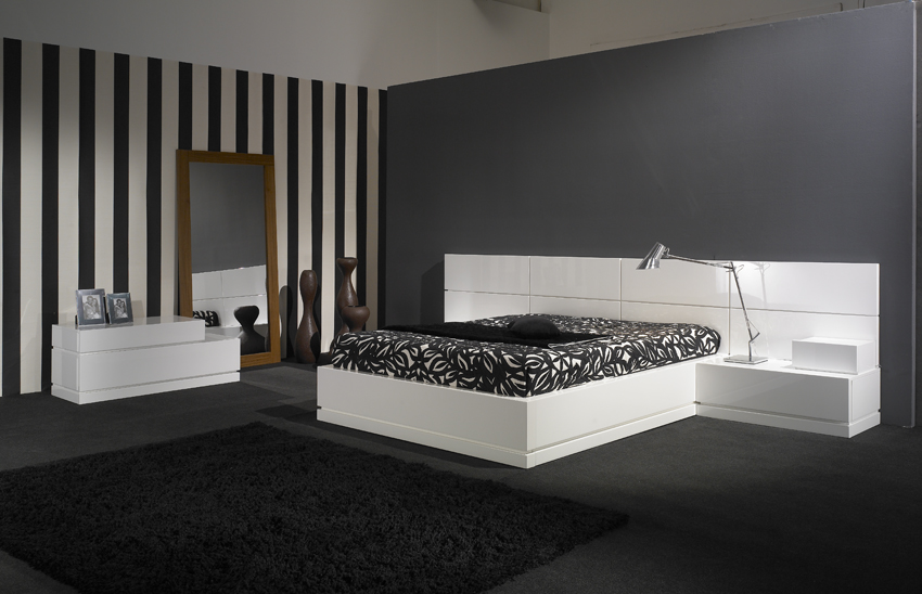 Dormitorios con paredes empapeladas cocinas modernas for Cocinas empapeladas