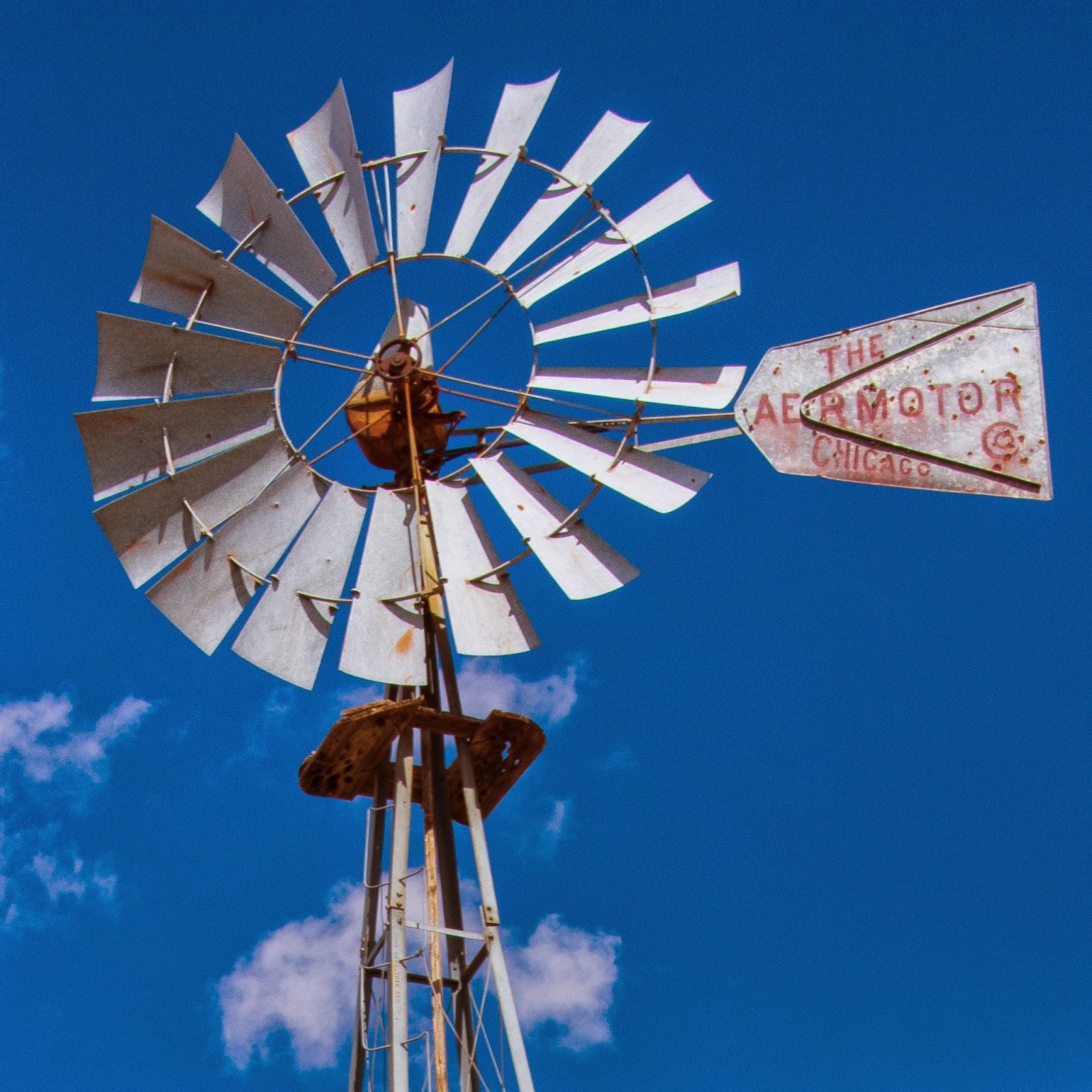 Aermotor Windmill, Terlingua, Texas