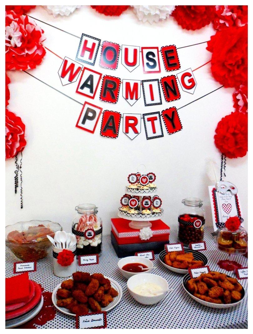 Tres chic the party planner housewarming party for House decoration products