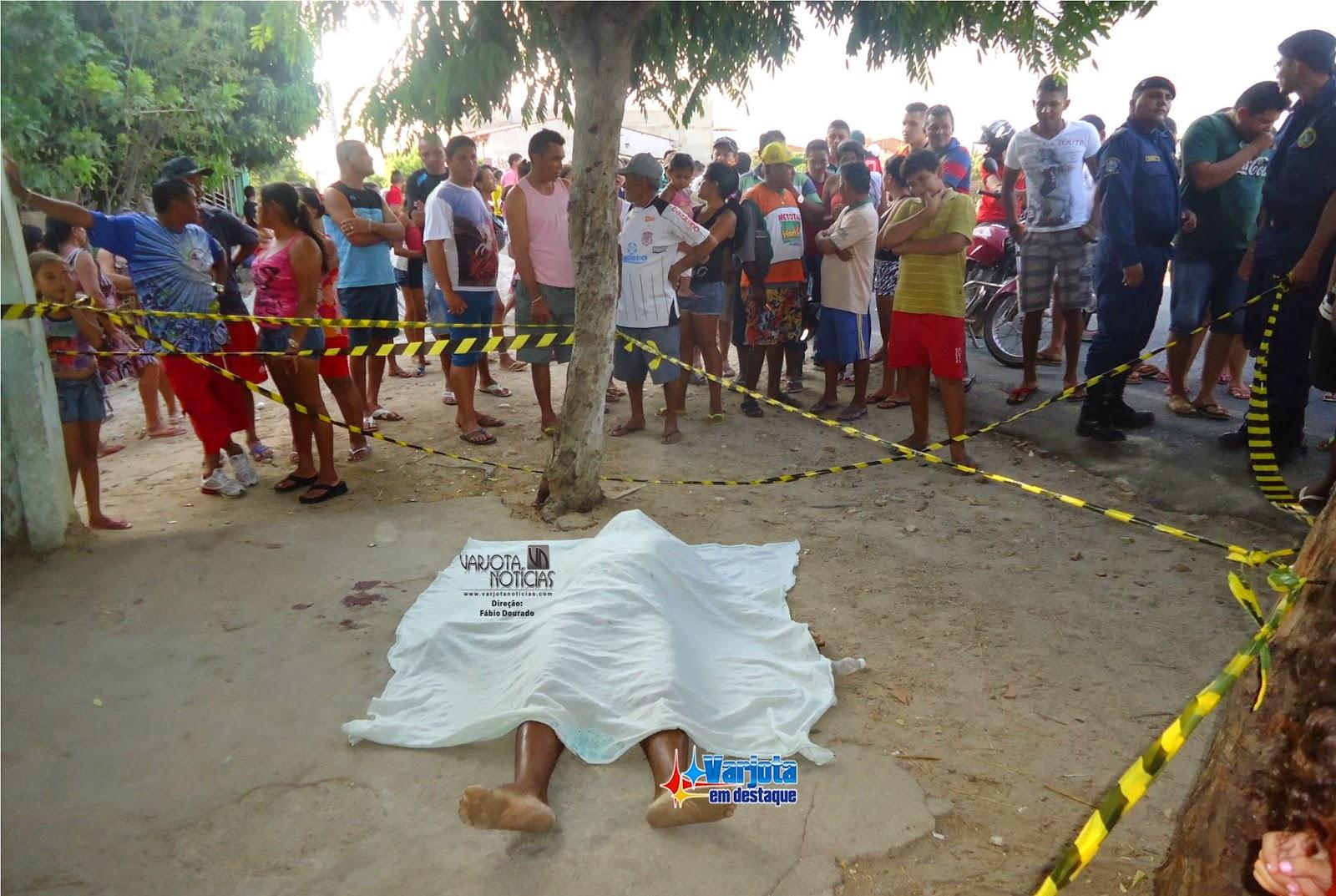 Varjota -CE: Homem mata cunhado a tiros.