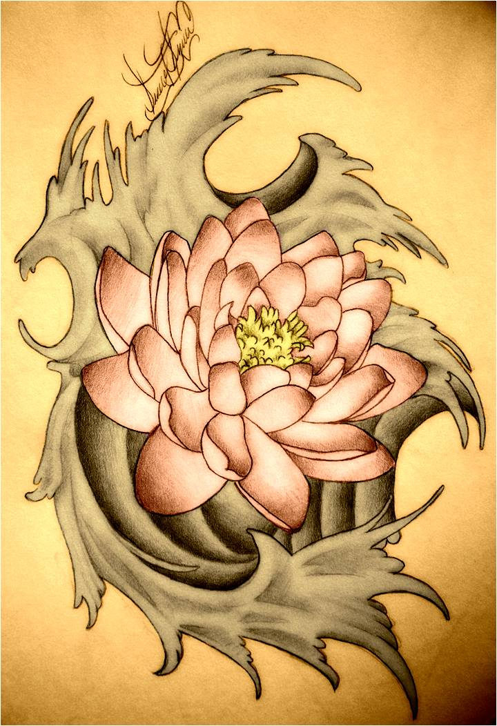 Trend tattoo styles lotus tattoo symbolic you may have noticed that the koi fish often are portrayed with the lotus flower both the koi and lotus are symbolic to japan china and other eastern mightylinksfo