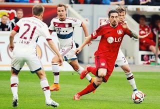 Results : Leverkusen 2-0 Bayern Munich