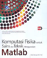 toko buku rahma: buku KOMPUTASI FISIKA UNTUK SAINS DAN TEKNIK MENGGUNAKAN MATLAB, pengarang mada sanjaya, penerbit andi