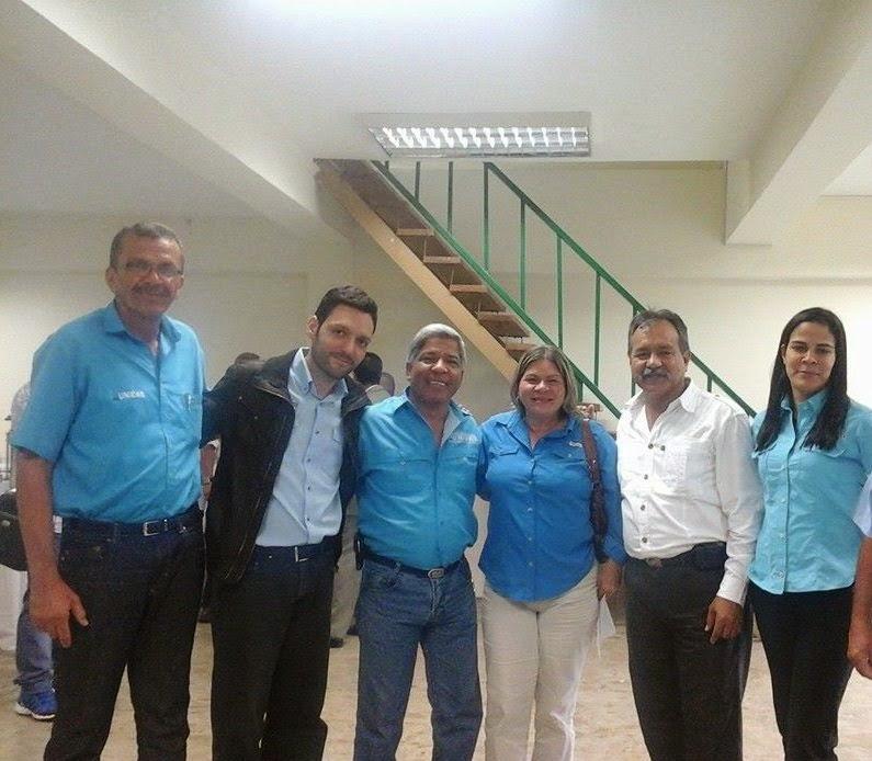 Dirigentes Regionales del MIN Unidad