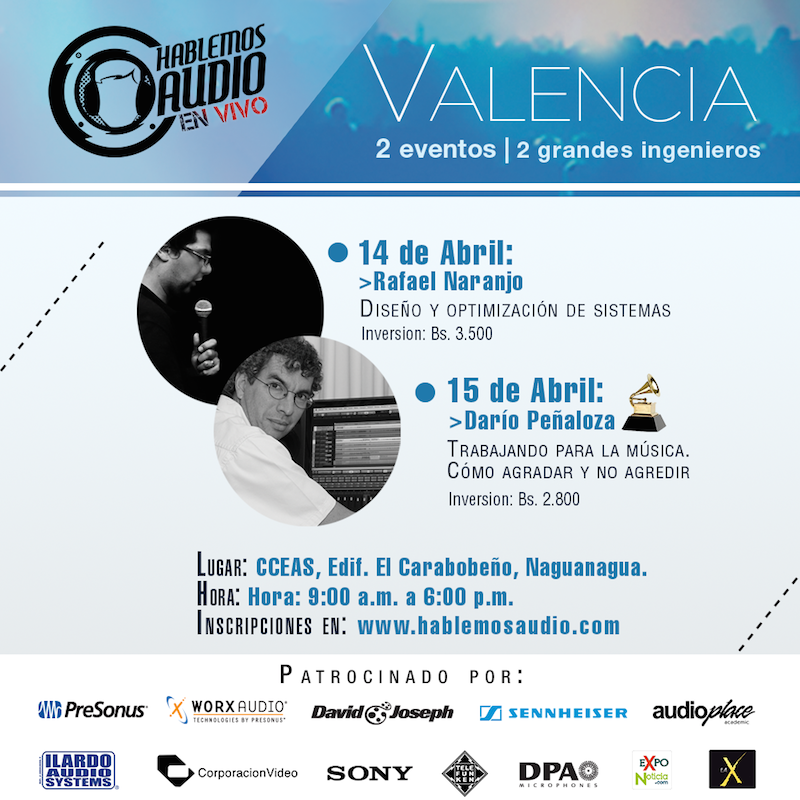 Hablemos Audio EN VIVO - Valencia