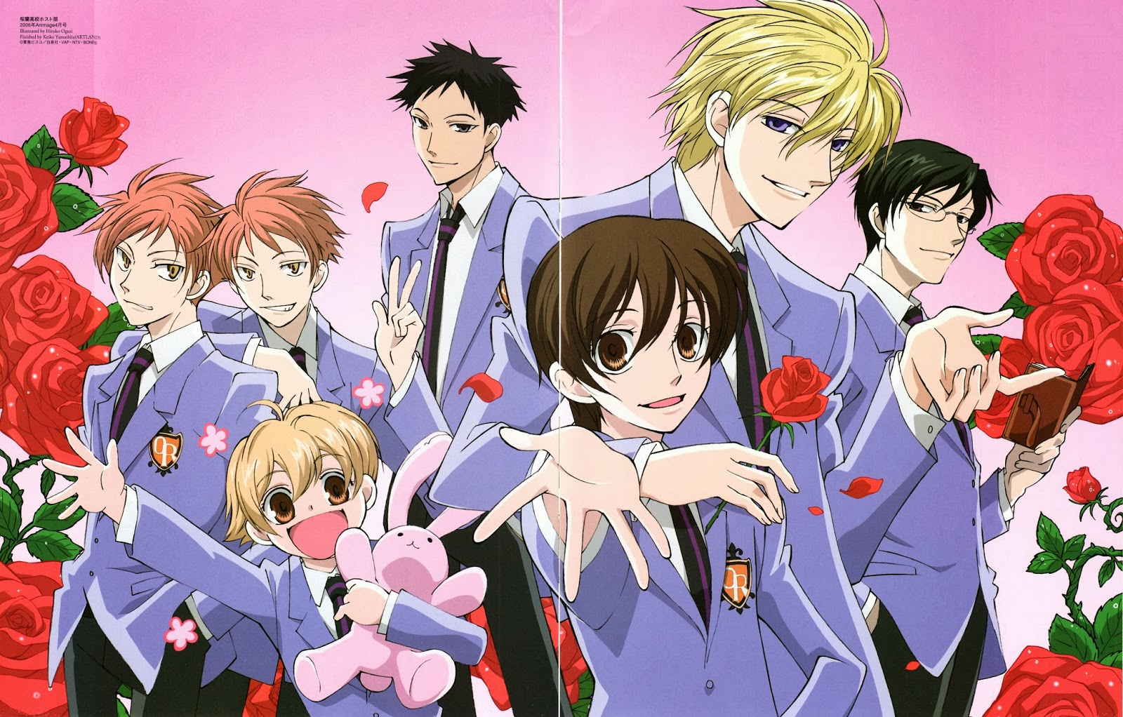This anime is full of pretty anime boys and one girl it would be a dream come true for any ohshc fangirl to find herself amongst this group of characters