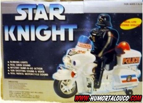 Como traumatizar seu filho com brinquedos...  - Star Knight