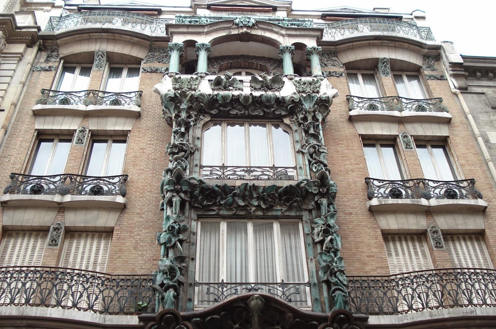 Paris on th me art nouveau les autres architectes for Architecte abbeville