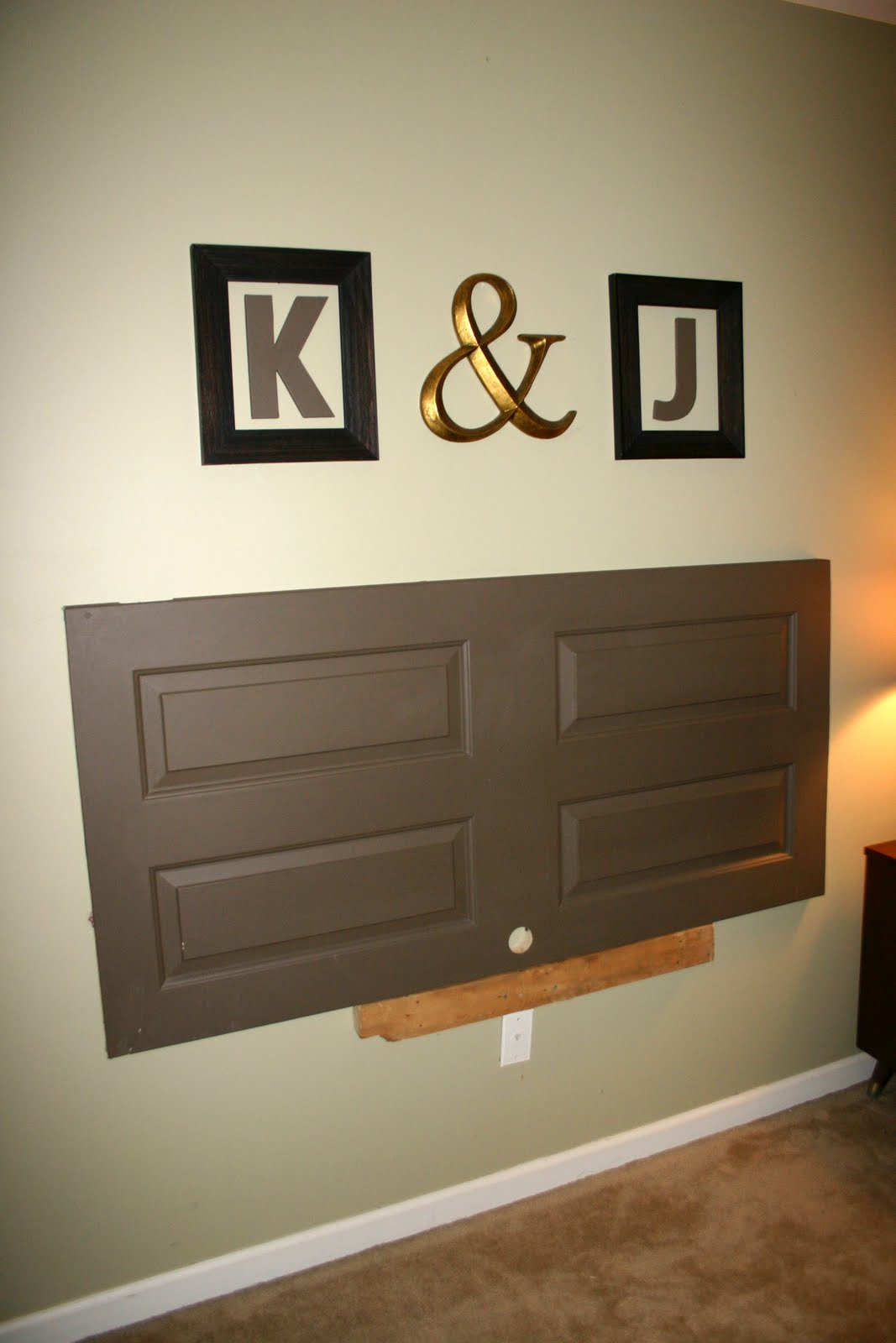 Diy headboards east coast creative blog for Door in the wall