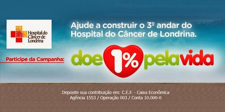 AJUDE O HOSPITAL DO CÂNCER LONDRINA