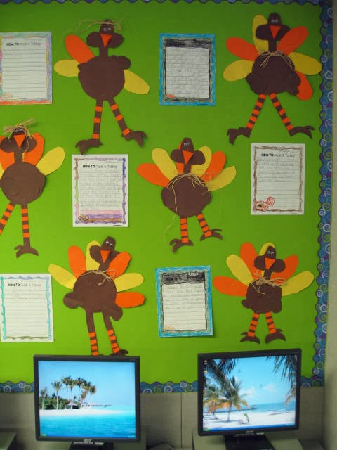 smiling and shining in second grade thanksgiving