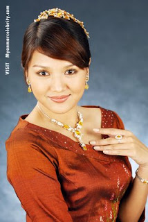 Thet Mon Myint, Myanmar Beautiful Model and Actress