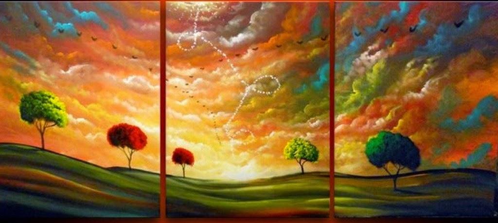 Im genes arte pinturas pinturas al leo paisajes for Fotos para cuadros grandes