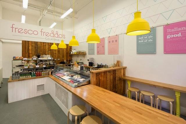 El blog de los muebles de hosteler a una nueva helader a - Diseno de interiores heladerias ...