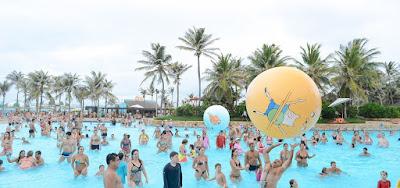 Imagem da última edição do Verão Divertido Cartoon Network, no Beach Park, em Fortaleza - Divulgação
