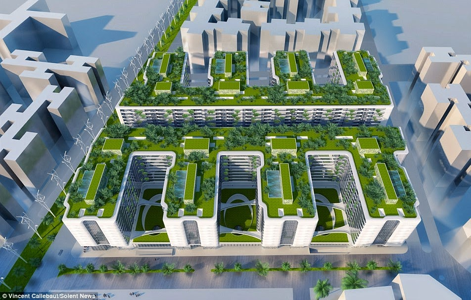 RESIDENCE'S GREEN ARCHITECTURE, Urban Design, architecture