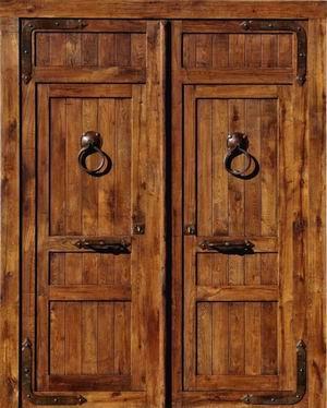 Ramiro rodr guez puertas for Puertas interiores rusticas