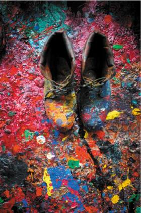 The Colour Of Ideas John Hoyland