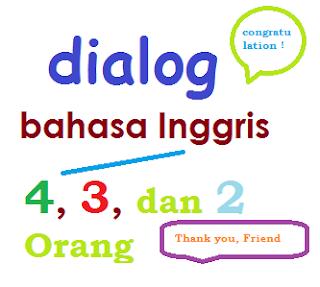 Dialog Singkat Bahasa Inggris 4, 3, dan 2 Orang + Arti: Congratulation