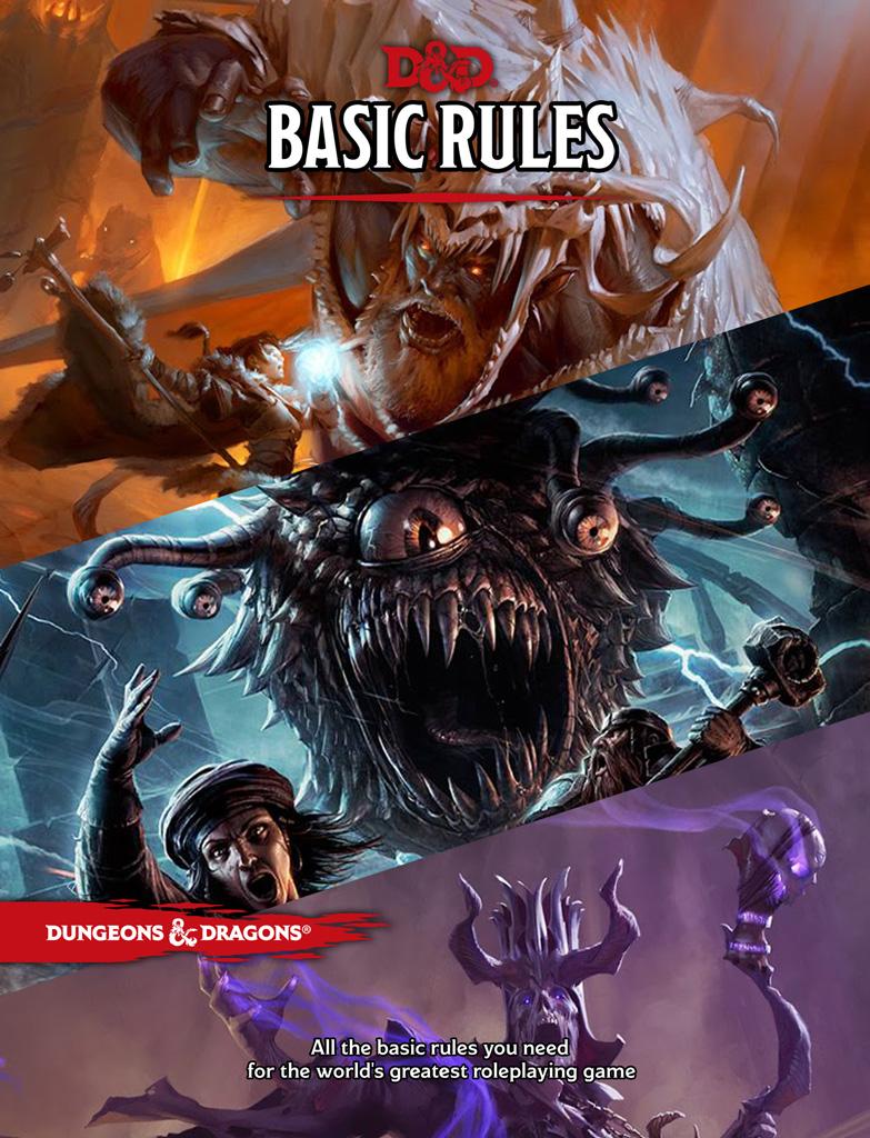 D&D 5e Basic (free)
