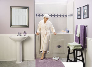 The caregiver partnership essential steps to designing a for Bathroom design for elderly people
