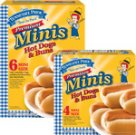 Tennessee Pride Mini Hot Dogs and Buns